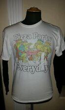 TMNT Teenage Mutant Ninja Turtles Pizza Party Everyday Longsleeve Shirt A/XL New