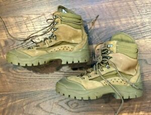 Bates Hot Weather Combat Hiker Boots Olive Mojave Military 7 10 10.5 WIDE 3612
