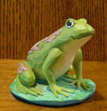 "Jim Shore Heartwood Creek Minis #6006448 Frog, 3"" Nib From Retail Store, Enesco"
