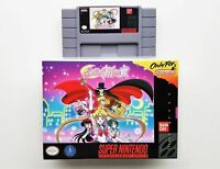Sailor Moon R Game / Case SNES Super Nintendo Beat Em Up / Brawler (USA Seller)