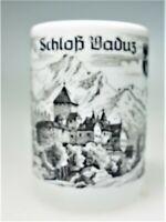 Schloss  Vaduz Castle Liechtenstein Swiss Mountain Porcelain Toothpick Holder