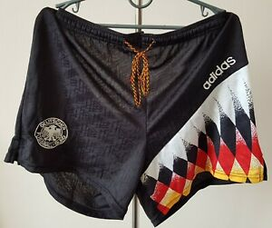 Germany 1994-1996 Home football Adidas Player Issue shorts size Large