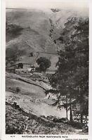 Cumbria Postcard - Watendlath from Rosthwaite Path - Real Photograph  N114