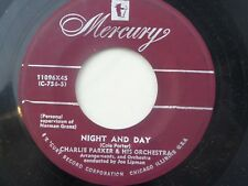 Charlie Parker & Orchestra: Night and Day / I Can't Get Started   [VG++ Copy]