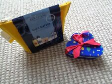 L'Occitane Shea Butter collection beauty pouch & tin of hand creams gift sets
