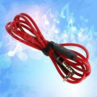 3.5mm Audio Cable Beats Solo Hd Studio Pro Mixr Headphone Speaker Aux Cord Wire