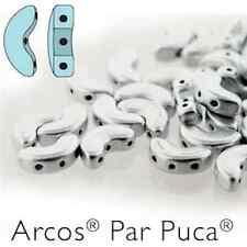 10 gramos arcos granos arcos par Puca Estera de Aluminio Plata Perlas