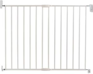 Lindam Wall Fix Extending Metal Safety Gate Push to Shut/Easy Close