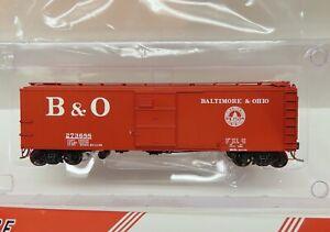 Red Caboose X-29 boxcar, Baltimore & Ohio M26D #273688, 1955 Capitol Dome B&O