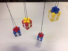 Lego 4x kleine Geschenke Päckchen Weihnachtsdeco Baumschmuck