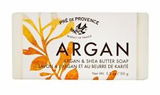 2 Pack Pre De Provence French Argan and Shea Butter Bar Soap 150g Gram 5.2 Ounce
