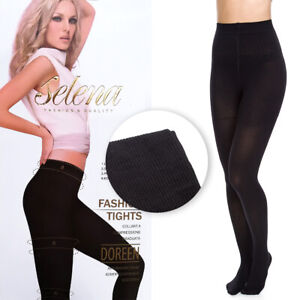 Womens Medical Tights Anti-Venous Compression Thick Opaque Pantyhose 300D SE552