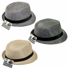 Unisex Summer Classic Fedora Hat with Band (Ships in a BOX)
