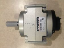 SMC CDRB1BW80-180 ROTARY AIR ACTUATOR NEW WITH A FEW SCUFFS ON TOP
