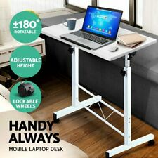 Portable Mobile Laptop Desk Height Adjustable Table
