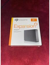 Seagate Expansion 3TB, External (STEB3000100) Hard Drive - Black NEVER OPENED