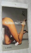BEILEISI Black Fishnet Flaring Pantyhose / Stockings BRAND NEW - L-XXXXL -- 4XL