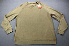 TOMMY BAHAMA Mens Beige Hammock Time Contrast Stitch V-Neck Sweater NWT M  $128