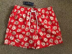 """M&S BLUE HARBOUR Swim shorts XL(99-104cm, 39-41"""") BNWT Coral"""