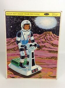 Major Matt Mason USA Nasa Space Whitman Frame Tray Puzzle Mattel Vintage 1968