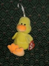 "Ty Basket Beanies ~ 3""(yellow) Duck ~ DUCKLING ~ 2004 ~ MWMT ~ RETIRED"
