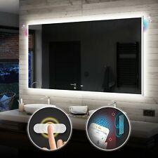 BADSPIEGEL mit LED Beleuchtung LICHTSPIEGEL Spiegel Badeimmerspiegel L49