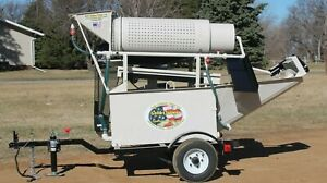 Gold Claimer Concentrator Trommel SELF CONTAINED 2-8 Yards Per Hour