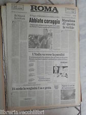 ROMA 13 Novembre 1990 Napoli Maradona Lega Lombarda Bossi Akihito Falcone di