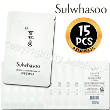 Sulwhasoo Gentle Cleansing Foam EX 5ml x 15pcs (75ml) Sample AMORE New Version