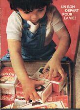 C- Publicité Advertising 1963 Farine Blédine bébé Jacquemaire