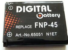 Replacement NP-45 680mAh Battery for FUJI FINEPIX Li-40A JZ510 J10 J100 EL-10