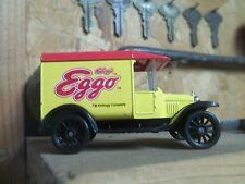 ADVERTIZING EGGO MATCH BOX 1921 MODEL T TOY TRUCK