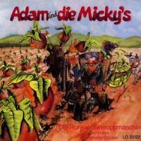 ADAM UND DIE MICKY'S - DIE RUNKELROIWEROPPMASCHIN  CD NEU