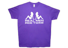 V-Twin T-Shirt T Shirt-For Suzuki VL 125 INTRUDER 750 tl1000r sv650 s Cotton