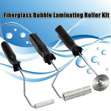 AU 3X Fiberglass Paddle Bubble Laminating Roller For Mould RESIN GRP 50/74/48MM