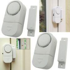 Shop Door/Window Entry Alert Security Alarm 105 DB 2pc Set Batteries Included