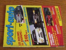 $$$ Revue Sport auto N°295 BMW M3Ford SierraMercedes 190 EGP Allemagne