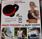 TOKK Hands-Free Calling Bluetooth Smart Speakerphone Magnetic Speaker. NEW.RED