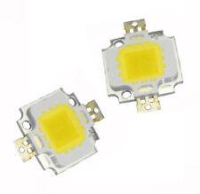 2pcs Super Bright High Power Integrated SMD LED Chips Flut Light Bulb 10W Weiß