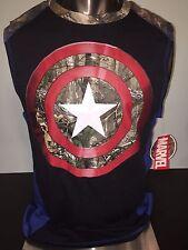 CAPTAIN AMERICA The Avengers 2 REALTREE Movie MEN'S Tank Top SLEEVELESS T-Shirt