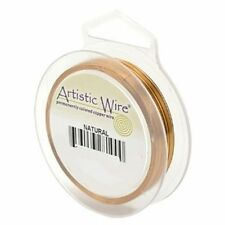 Artistic Wire Natural Copper 30 gauge 50 yards 41162 Tarnish Resistant