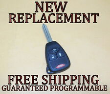 NEW W/ OEM ELECTRONICS CHRYSLER DODGE JEEP KEYLESS REMOTE START HEAD KEY FOB