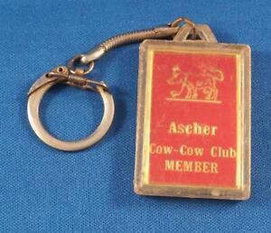 Porte-Clés Ascher Vache Equipe Porte-Clé Vintage