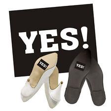 """Schuhsticker """"Yes !"""" 2 Stk. Schuh Aufklebe Sticker Brautschuhe"""