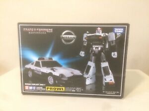 Transformers Masterpiece MP-17 Prowl 280Z With Toy Hawk Labels & MP-17+ Canons