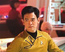 GFA Star Trek Sulu * JOHN CHO * Signed Autograph 8x10 Photo J1 COA