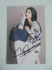 Suzy Bae Miss A 4x6 Photo Korean Actress KPOP autograph hand signed USA Seller 3