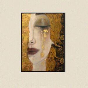 "YA983 Gustav Klimt oil painting Hand-painted Reproduction Unframed 36"""