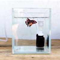 Aquarium Fish Tank Mute Pneumatic Filter Biochemical Sponge Corner Filtration