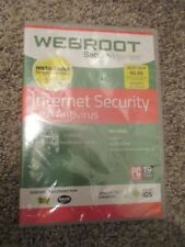 Webroot Secure Anywhere Internet Security Antivirus Windows & Mac 3 Devices New